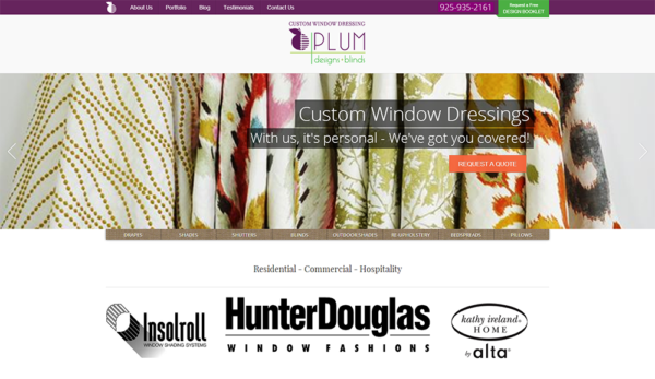 Plum Designs and Blinds